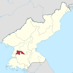 平壤直辖市的位置图
