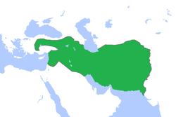 前301年塞琉古帝国疆域