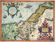A detailed map of Palestine from the century