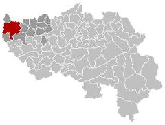 Hannut Liège Belgium Map.png