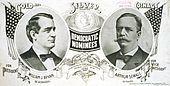 1896 Democratic campaign poster
