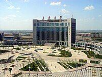 长安大学渭水校区图书馆