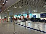 Incheckning Moss Airport, Rygge.JPG