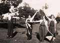 Women's Emergency Signalling Corps members at Castle Hill c1939.png