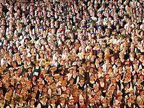Latvian song festival by Dainis Matisons, 2008.jpg