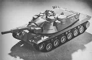 Model of the final design MBT-70.JPG