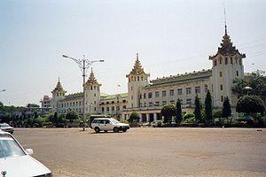 Myanmar-Yangon-Main train station.jpg