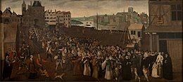 1590年巴黎街头武装游行