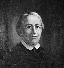 Bust-length portrait of William Feiner