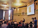 Wikimania, annual conference for users of Wikipedia and other Wikimedia projects