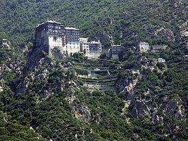 シモノペトラ修道院