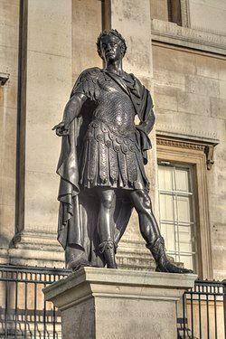 James II Trafalgar Square right side.jpg