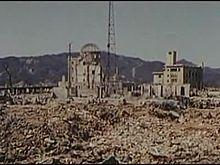 File:Physical damage, blast effect, Hiroshima, 1946-03-13 ~ 1946-04-08, 342-USAF-11071.ogv