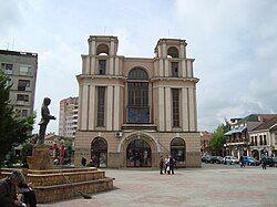 库马诺沃的城市广场