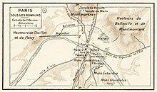 Vidal Lablache - Atlas General Histoire et Geographie, Paris sous les romains - Hipkiss.jpg
