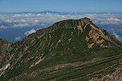 Mount Mamahaha and Mount Haku from Okunoin.jpg