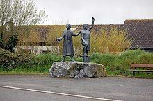 Statue of Michael Joseph the Smith and Thomas Flamank - geograph.org.uk - 1263309.jpg