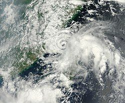 8月31日的热带风暴南川