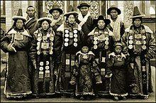 Family In Lanchow, China 1944 Fr. Mark Tennien Restored.jpg