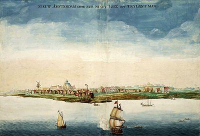New Amsterdam c. 1664