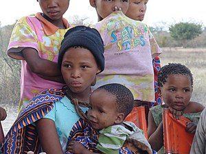 Namibian Bushmen Girls.JPG