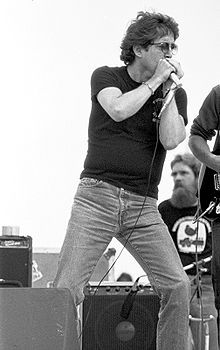 Butterfield performing at Woodstock Reunion 1979