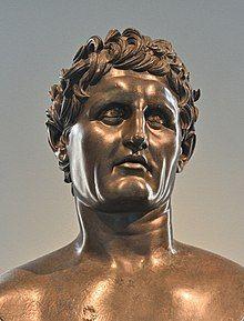 Seleukos I Nikator Bronze Roman 100BCE-100CE Museo Archeologico Nazionale Naples AN 5590 1.jpg