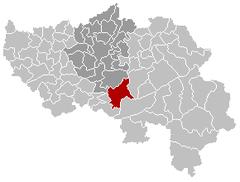 Aywaille Liège Belgium Map.png