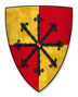 Coat of arms of Geoffrey de Mandeville, Earl of Essex and Gloucester.png