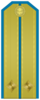 Rank insignia of Лейтенант of the Bulgarian Air forces.png