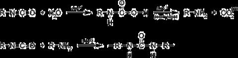 水与异氰酸酯的反应