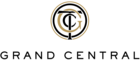 """Logo of Grand Central Terminal, with interlocking letters """"G"""", """"C"""", and """"T"""""""