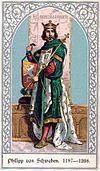 Die deutschen Kaiser Philipp von Schwaben.jpg