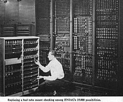 Early vacuum tube Turing complete computer
