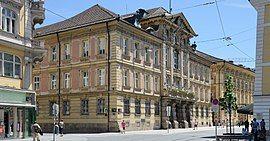 Innsbruck - Altes Landhaus (Tiroler Landtag)1 (cropped).jpg