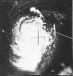 Typhoon Thelma TIROS V 24 aug 1962 0207Z.jpg