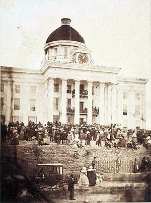 Alabama Capitol at Montgomery