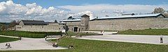 Mauthausen concentration camp, exterior view (cropped).jpg