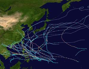 1952 Pacific typhoon season summary map.png