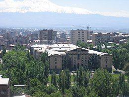 埃里温的亚美尼亚国民议会大厦