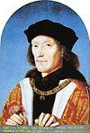 Henry VII, by Michel Sittow, 1505