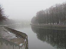 Svislač river in autumn.