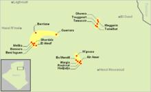 Mzab-Wargla Berberophone areas.PNG