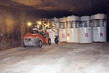 Storage of radioactive waste at WIPP