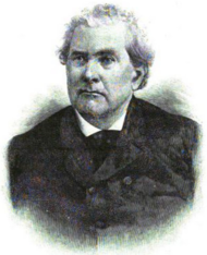 Bust drawing of Charles H. Stonestreet