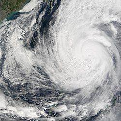 强台风南玛都的巅峰时期