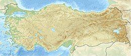 1999年伊兹密特地震在土耳其的位置