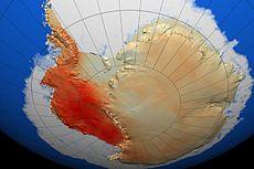 南极气温变化趋势
