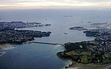 The Rance Tidal Power Station in France