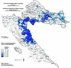 克罗地亚的位置